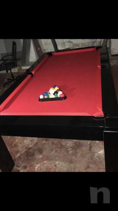 Tavolo/Biliardo professionale come nuovo con attrezzatura completa  foto-37112