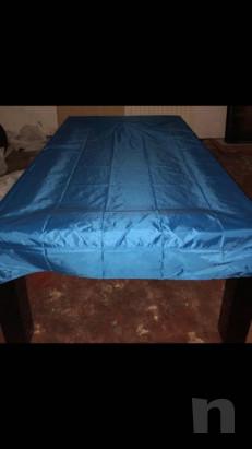Tavolo/biliardo legno laccato nero con attrezzatura completa foto-37118