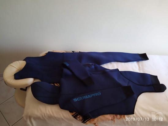 BELLISSIMA MUTA SCUBAPRO SUB DUE PEZZI mm5 UOMO MISURA M foto-37301