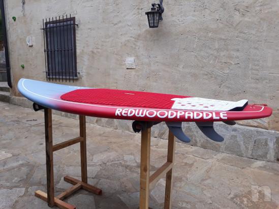 Sup surf Redwoodpadle source pro carbon 7'4