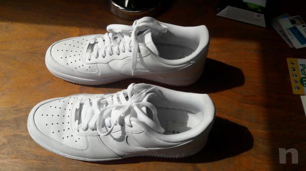 Scarpe Nike Air bianche n. 45 EU e 11 USA foto-38197