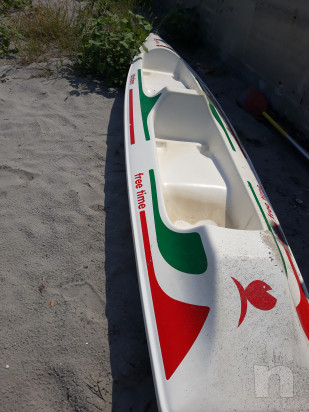 Canoa doppia vetroresina foto-19724