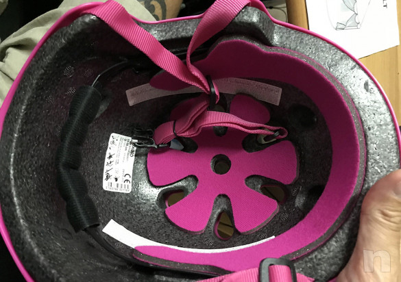 Kit completo ROLLER bambina   CASCO   PARACOLPI foto-38464