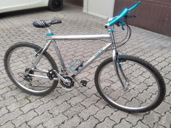 mountain bike telaio acciaio cromato da uomo foto-38584