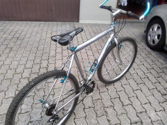mountain bike telaio acciaio cromato da uomo foto-38585