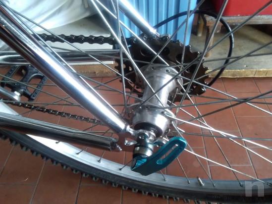 mountain bike telaio acciaio cromato da uomo foto-38587