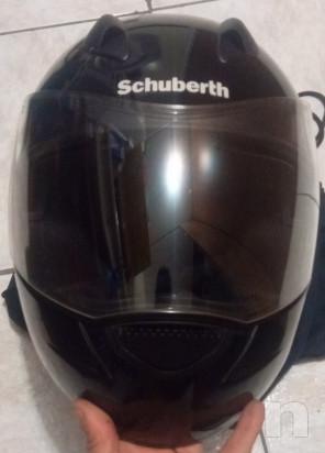 casco integrale moto schubert R1 colore nero foto-19911