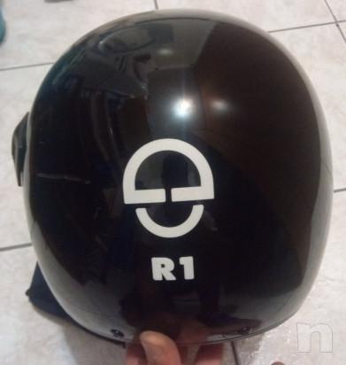 casco integrale moto schubert R1 colore nero foto-38803