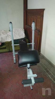 Panca pettorali con leg extension foto-38849