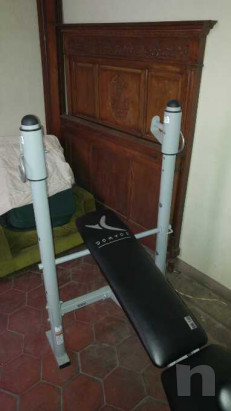 Panca pettorali con leg extension foto-38848