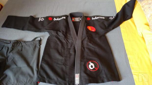 Kimono ATAMA A2 BJJ originale scuola DE LA RIVA foto-39014