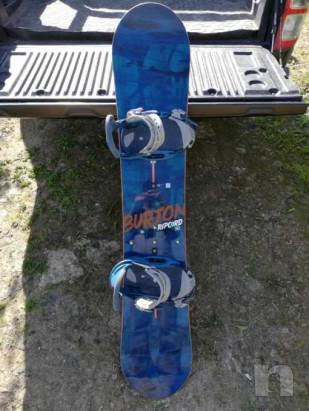 Snowboard Burton ripcord 150 con attacchi e scarponi foto-20033