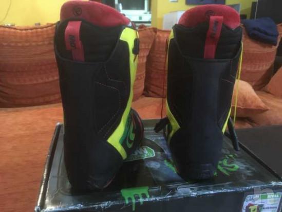 Snowboard Burton ripcord 150 con attacchi e scarponi foto-39082