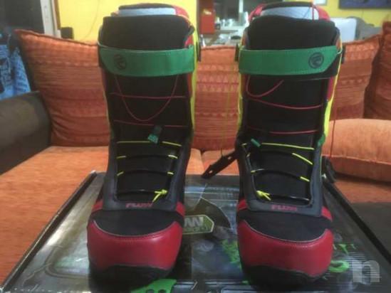 Snowboard Burton ripcord 150 con attacchi e scarponi foto-39081