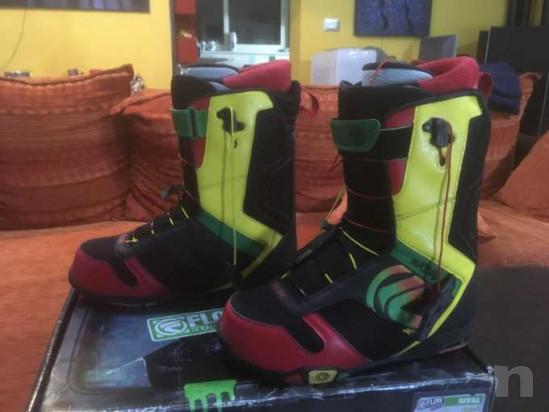 Snowboard Burton ripcord 150 con attacchi e scarponi foto-39083