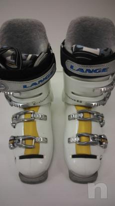 Lange Scarponi Sci misura 24,5(39 di piede) Flex 80 foto-20140