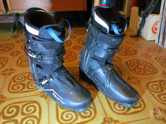 Scarponi scialpinismo salomon x alp explorer foto-20225