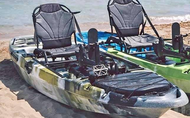 Canoa a pedali foto-20230