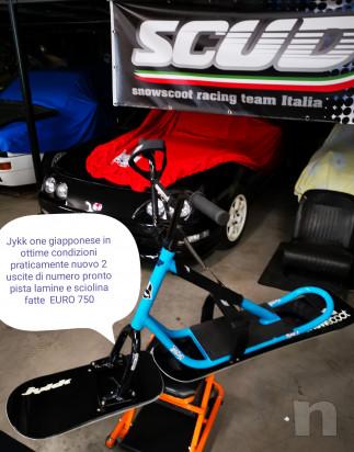 Snowscoot snow scoot moto bici sci da neve dh downhill freeride free ride snowmoto  foto-39657