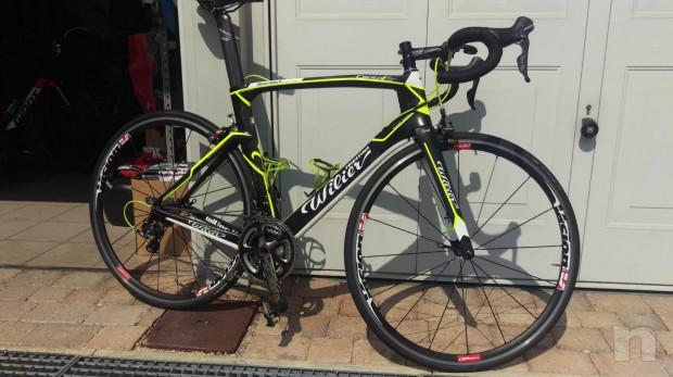 Bici da corsa Wilier Triestina 101 air monoscocca corboniod taglia L foto-39872