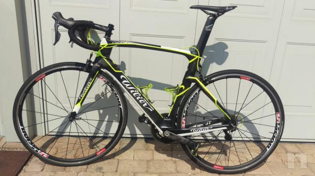 Bici da corsa Wilier Triestina 101 air monoscocca corboniod taglia L foto-20431