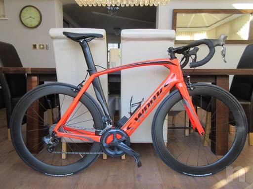Specialized S-Venge carbonio Opere DI2 Road Race team ruote bici Ultegra ZIpp ti 2018 foto-20446