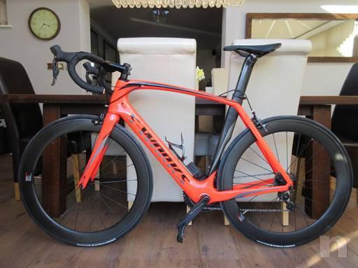 Specialized S-Venge carbonio Opere DI2 Road Race team ruote bici Ultegra ZIpp ti 2018 foto-39894