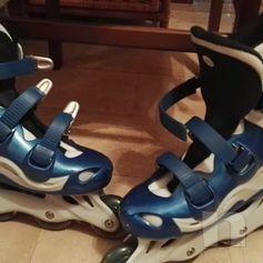 Pattini in linea Rollerblade , marca Xcuse - usati 1 volta, misura 41 foto-40290