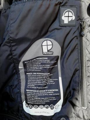 Giacca snowboard uomo Protest XXL colore nero foto-40306