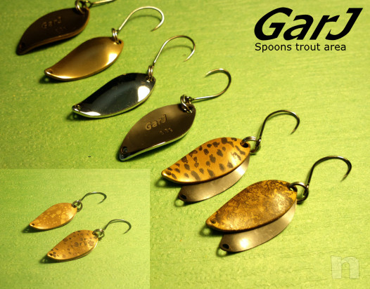 Spoon Garj ondulanti trout area  foto-40629