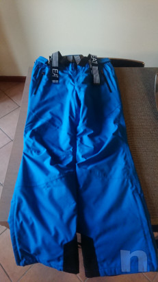 Salopette pantaloni sci uomo Armani tg XL foto-41398