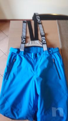 Salopette pantaloni sci uomo Armani tg XL foto-21154