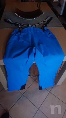 Salopette pantaloni sci uomo Armani tg XL foto-41399