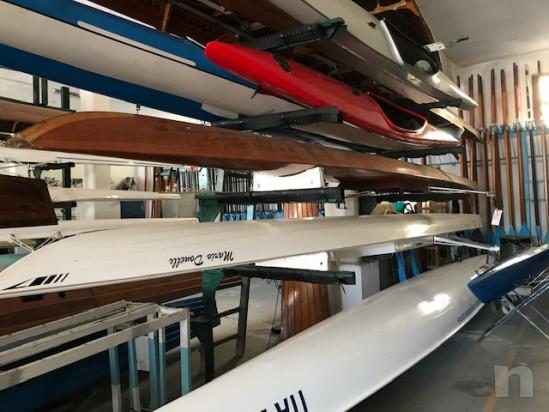 vendo canoino (imbarcazione da canottaggio) singolo in legno foto-21176