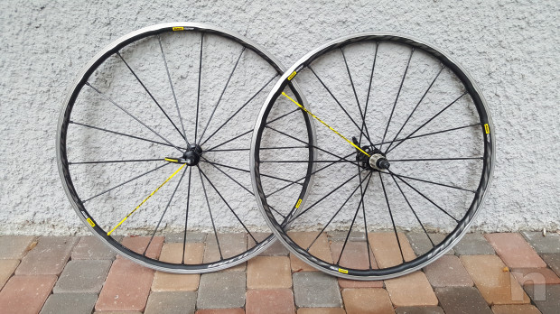 Vendo coppia di ruote per bici da corsa Mavic Ksyrium Pro Ust 2018 foto-21240