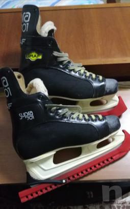 Pattini da hockey ghiaccio  GRAF modello Supra 701 foto-21279