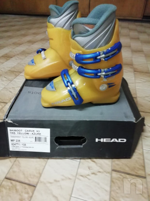 Vendo sci Fischer   scarponi   bastoncini foto-41770