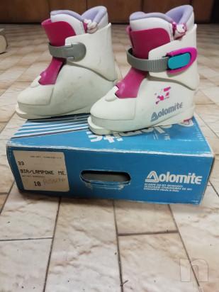 Vendo scarponi da sci bimba foto-41773