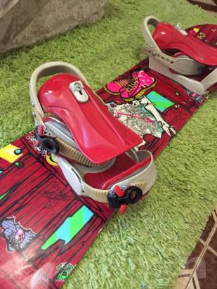 Tavola snowboard 125 cm foto-21361