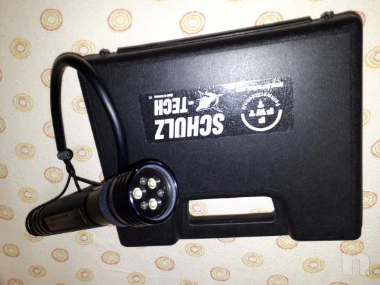 Torcia sub tri-LED GS35 Testa illuminante TriLED Wide  2400 lumen foto-41930