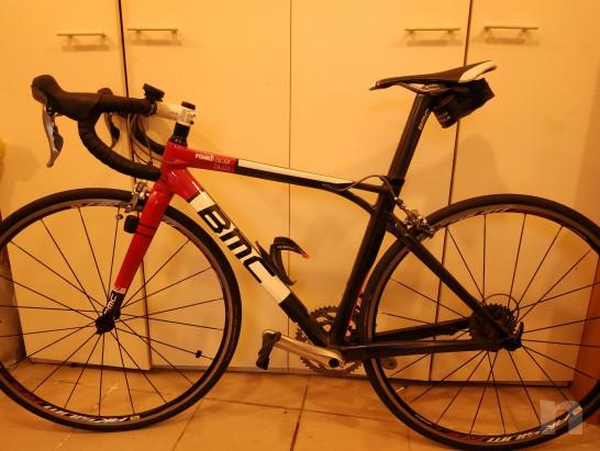 Bici da corsa usata carbonio BMC Sl 01 Road race sl01. La condizione Usato foto-21393