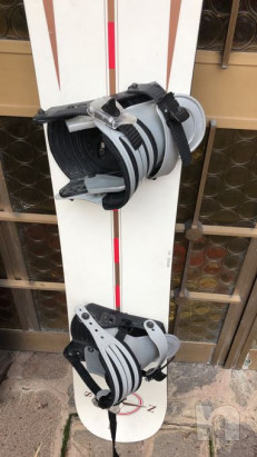 Snowboard mark misura 138 usato pochissimo foto-21427