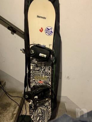 Snowboard tavola rossignol   attacchi   scarponi  sacca foto-21461