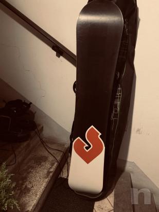 Snowboard tavola rossignol   attacchi   scarponi  sacca foto-42133