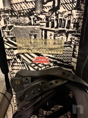 Snowboard tavola rossignol   attacchi   scarponi  sacca foto-42132