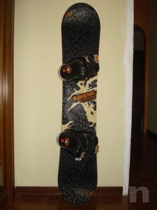 tavola snowboard + attacchi foto-3670