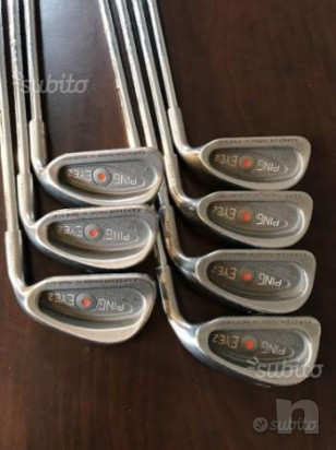 set di ferri ping eye 3-pw foto-21537