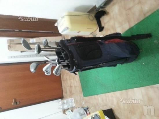 attrezzatura   completa golf sacca   set di mazze foto-21539