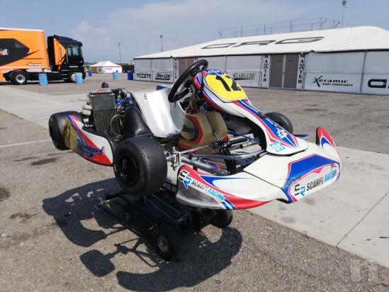 Kart Zanardi con motore Rotax junior foto-42450
