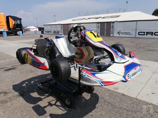 Kart Zanardi con motore Rotax junior foto-42451